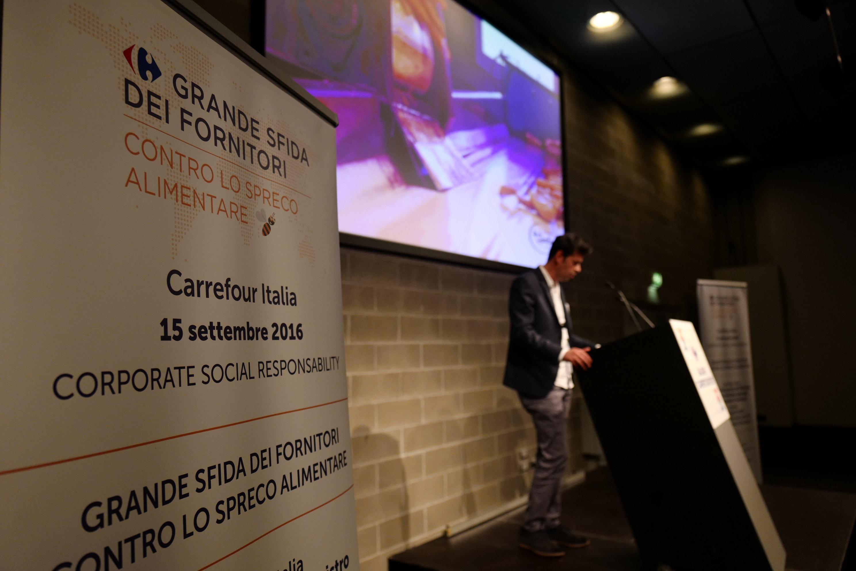 """La Spalla Mauro srl vince il premio """"GRANDE SFIDA DEI FORNITORI"""" di Carrefour"""