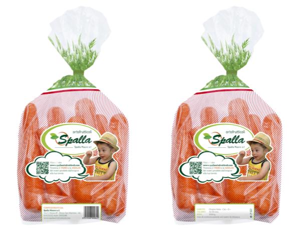 In produzione il nuovo sacchetto carote a marchio Spalla Mauro